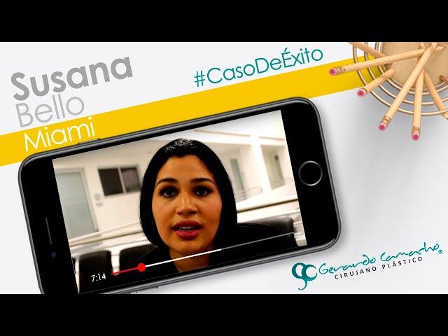 Testimonio Lipoescultura  secundaria  Paciente de Miami