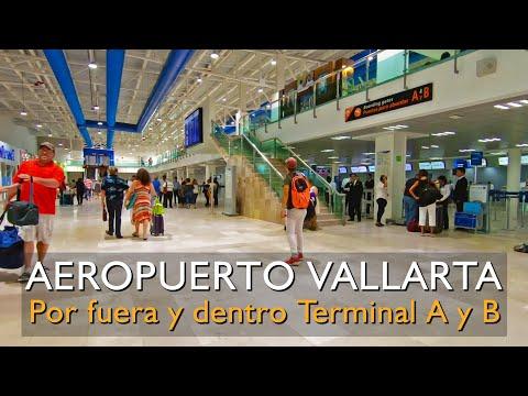 aeropuerto-de-puerto-vallarta,-dentro-y-fuera,-terminal-a-y-b