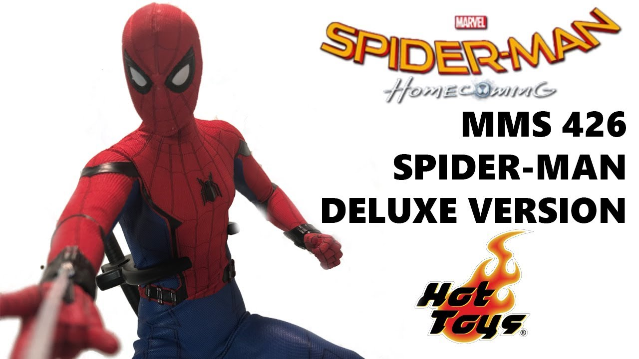 f131287a311 Hot Toys MMS426 Spider-Man Homecoming Spider-Man Deluxe Version 1/6 Scale  Figure Review