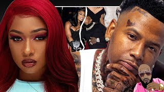 Megan Thee Stallion REACTS To Money Bagg Yo Having A Baby On Her!!