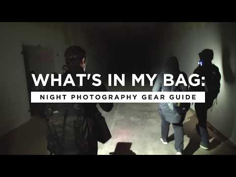 What's In My Camera Bag: Night Photographer Tim Cooper | CreativeLive