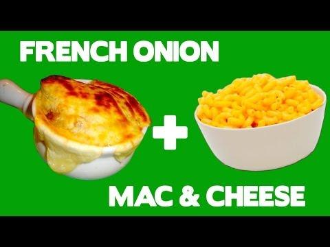 French Onion Mac 'n Cheese - Food Mashups