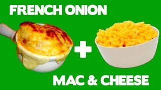 French Onion Mac 'n Cheese - Food Mashups