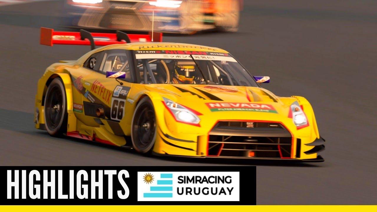 Highlights Ronda 2 | Fuji Speedway F Gr.2 | Simracing Uruguay | Sala Amarilla