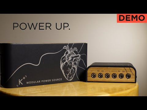 A Power Supply For Your Hungriest Pedals - Anasounds K+ Power Source