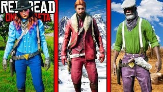 TOP 5 BEST OUTFITS in Red Dead Redemption 2! RDR2 Online Outfits!