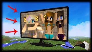 Obrovská funkční televize v Minecraft - mapy #9
