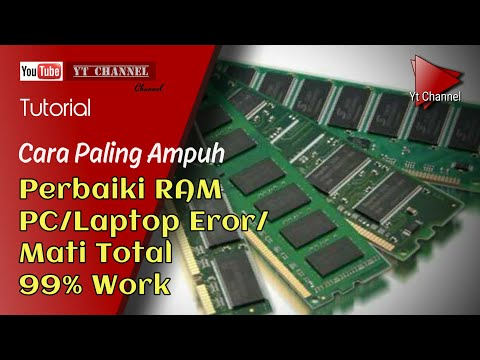 Perbaiki ram PC mati total 99% Work
