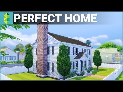 The Sims 4 House Building - Perfect Family Home