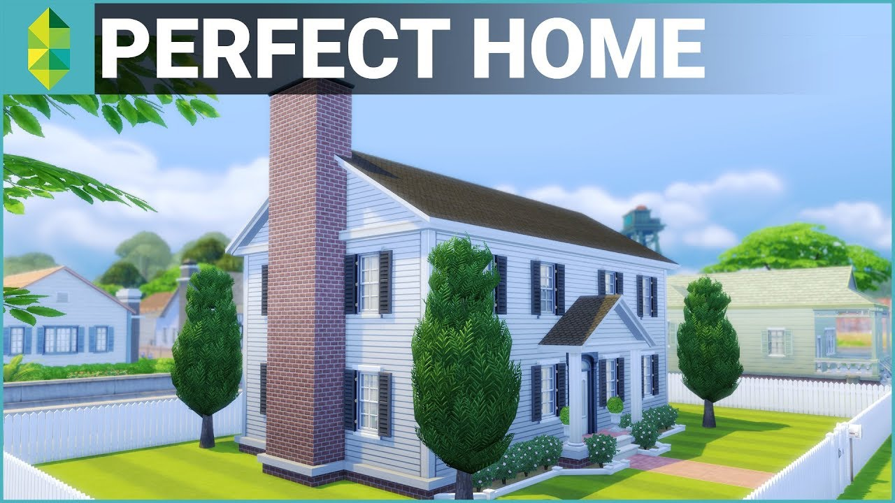 The sims 4 house building perfect family home youtube Picture perfect house