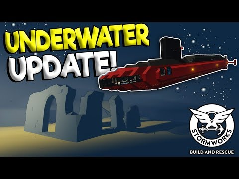 UNDERWATER MISSION UPDATE & SECRET LOST CITY!? - Stormworks: Build and Rescue Update Gameplay