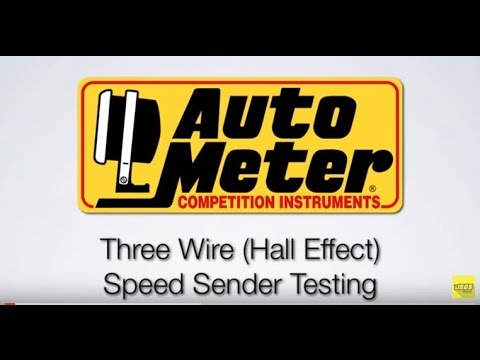 Hallefect Auto Meter Wiring Diagram on