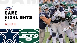 Download Cowboys vs. Jets Week 6 Highlights | NFL 2019 Mp3 and Videos