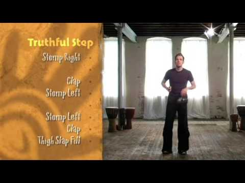 Body Percussion - Free African Body Percussion Lesson by Tribal Groove