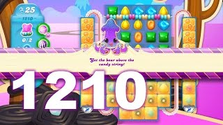 Candy Crush Soda Saga Level 1210 (3 stars, No boosters)