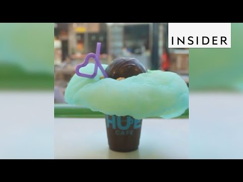 A cafe in the Philippines serves frappés that are out of this world