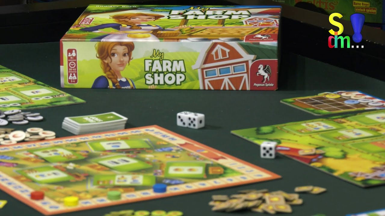 Spiel doch mal MY FARMSHOP! - Brettspiel Rezension Meinung Test #361