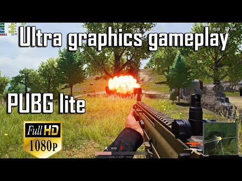 PUBG lite PC Ultra Graphics settings Gameplay #2 (60FPS)