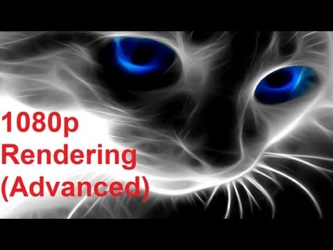How To make 1080p full HD youtube video. Compressing Fraps recording (Advanced)