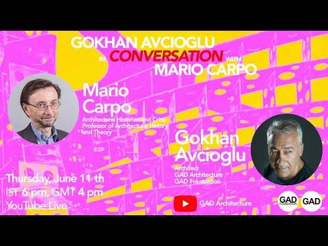 Gokhan Avcioglu's online discussion with Mario Carpo
