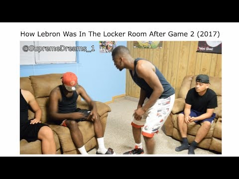 NBA FINALS 2017 ALL LOCKER ROOM VIDEOS LEBRON AND GOLDEN STA