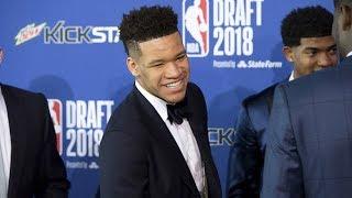9th pick 1st round - Kevin Knox (Knicks) | 2018 NBA Draft