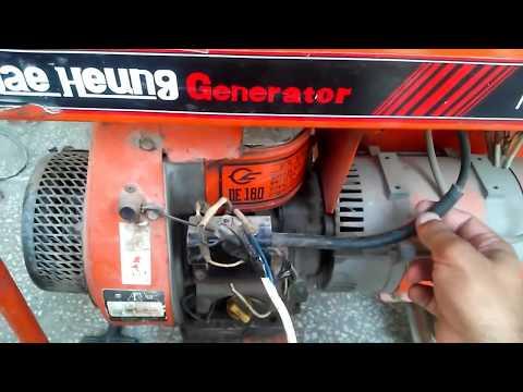 three phase motor control wiring diagram single capacitor start run auto generator change supply circuit with practical in urdu - youtube