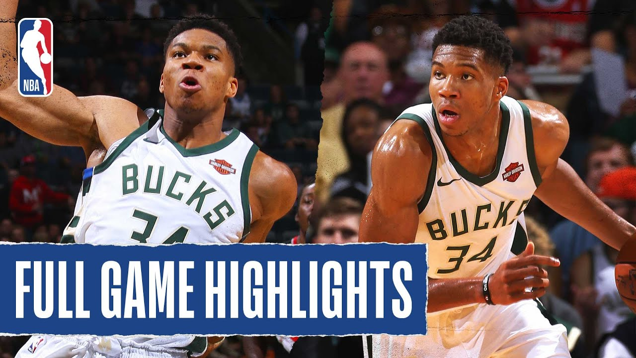 Giannis Comes Up CLUTCH & Finishes With  44 PTS