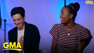 'Monsters at Work' stars explain what they love most about their characters