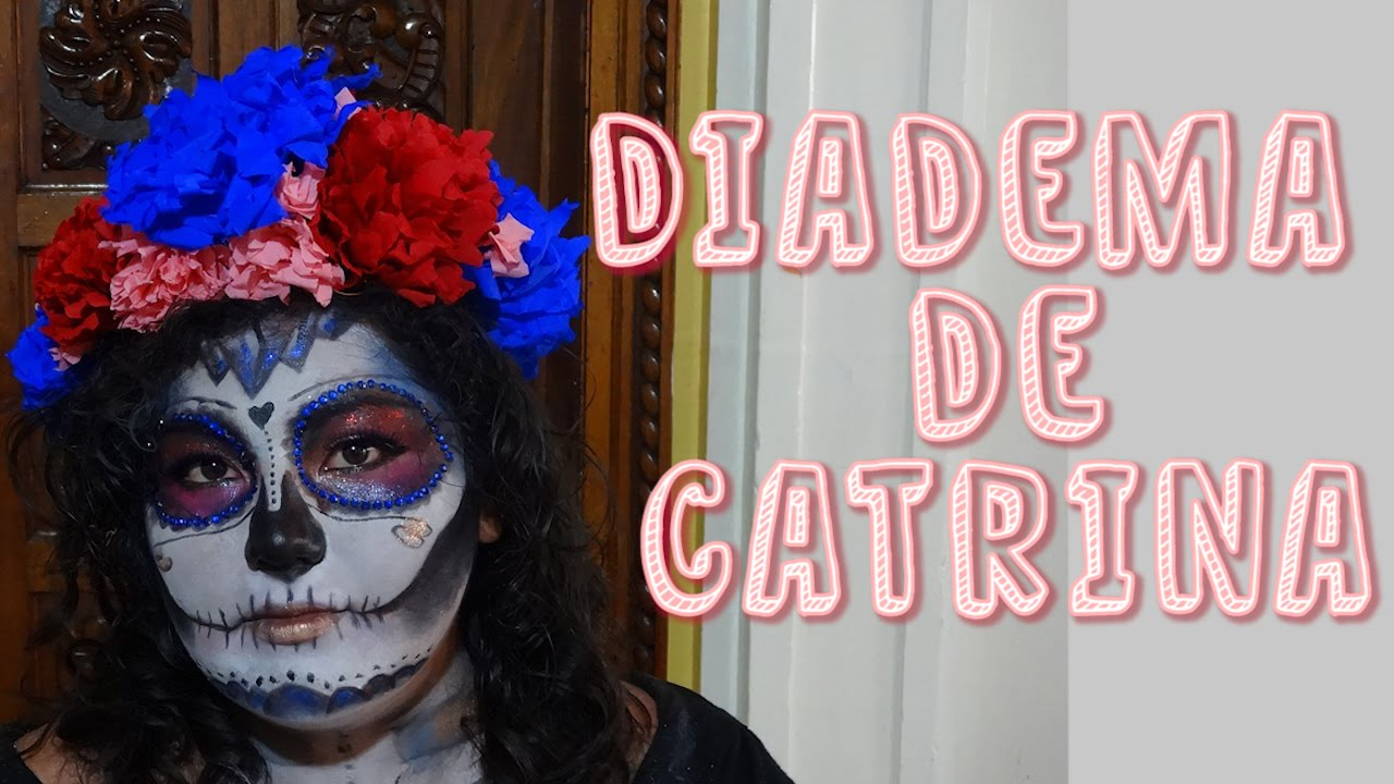 Hazlo tu mism@ DIY 21 Corona de Flores + Diadema de Catrina + Diadema de flores