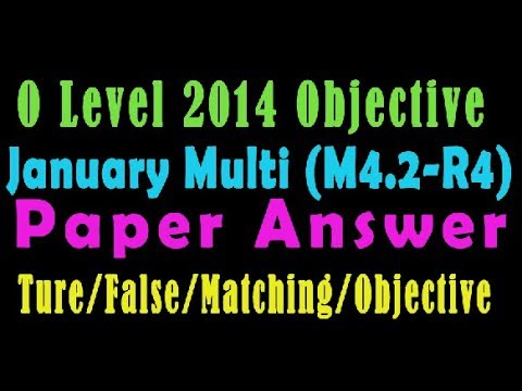 O Level Doeacc/Nielit O Level 2014 January(Multimedia M4.2) Solve  Paper In Hindi (Objection Type)