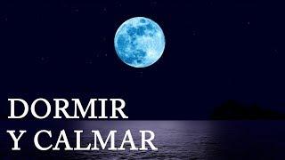 Música Para Dormir Bien  Mar y Luna Relajante  Calmar la Mente