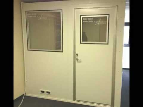 Advanced Acoustics Silent Space Isolation Booth Installs