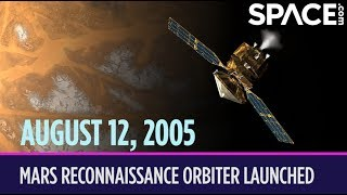 OTD in Space – August 12: Mars Reconnaissance Orbiter Launched