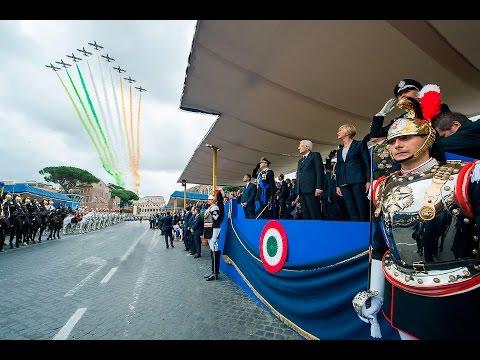 Festa della Repubblica: il Presidente Mattarella alla rivista militare