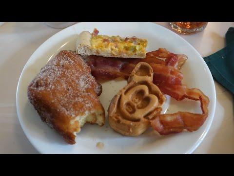 Crystal Palace Breakfast - Walt Disney World