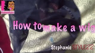 ♡HOW TO MAKE A FULL WIG ♡(HD) Thumbnail