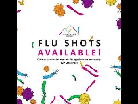 Frontier Pharmacy Flu Shot Ad