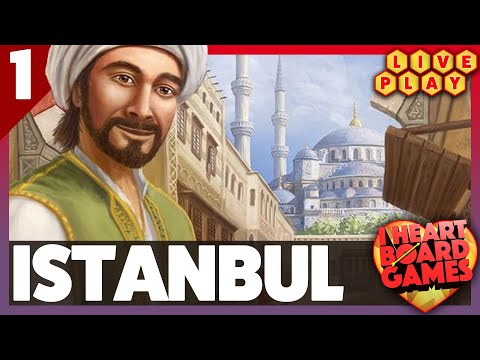 Istanbul, 2p playthrough | Live Play Session 1