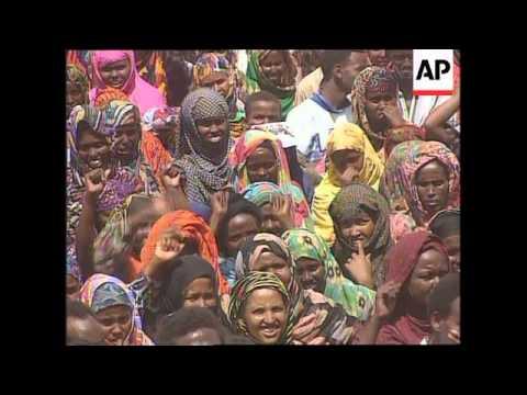 Somalia - Media Attacked, Aidid Supporters Protest