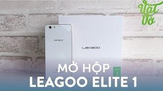Vật Vờ| Mở hộp & đánh giá nhanh Leagoo Elite 1: máy rất đẹp, vân tay nhạy