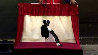 This puppet can moonwalk like Michael Jackson dance tribute