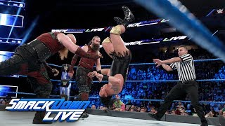 The Bludgeon Brothers vs. local competitors: SmackDown LIVE, Jan. 30, 2018