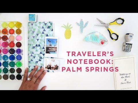 Traveler's Notebook | Palm Springs