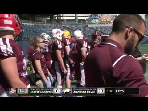 2016  Football Canada Cup - 7th Place Game Manitoba Silver vs New Brunswick
