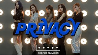SECRET NUMBER  - PRIVACY 시크릿넘버 【K-POP IN PUBLIC】Dance cover …