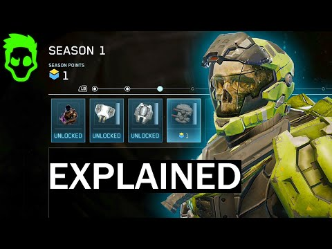 Halo Reach Mcc Season Progression Explained