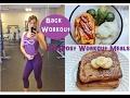What to Eat Pre & #PostWorkoutVegan | #BackWorkout | #Vegan #Fitness