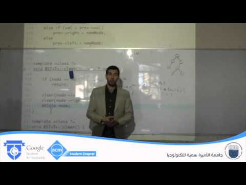 Lecture 26: BST Operations: Search, Counting Nodes, Computing Heights - Ibrahim Albluwi @ PSUT