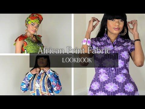 MOIS DE LA FEMME [MODELE  EN PAGNE ] African Print Fabric LOOKBOOK